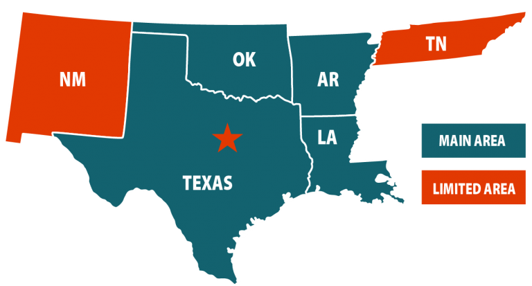 recal service map